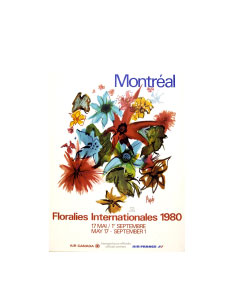 Floralies Expo 1980 Montreal