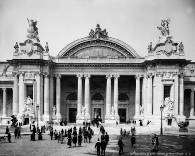 The Grand Palais on the opening day of Expo 1900 Paris. Courtesy of Le Grand Palais © LL / Roger-Viollet