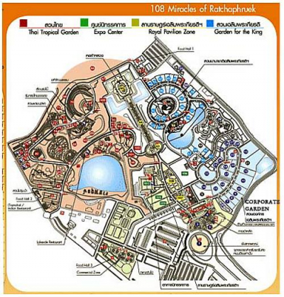Horticultural Expo 2003 site map
