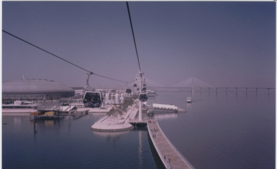 Expo 1998 and the Vasco da Gama bridge