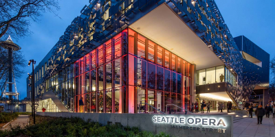 Seattle Opera (Space Needle in the background)
