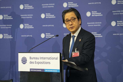 Hiroyuki Ishige, Secretary General of the Japan Association for Expo 2025