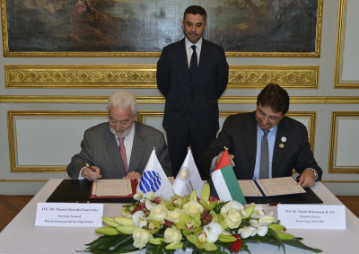 BIE signs Expo 2020 See Agreement with UAE Government