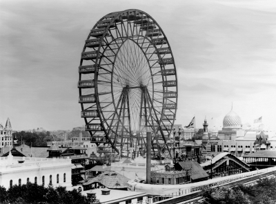 The original Ferris Wheel at Expo 1893 in Chicago