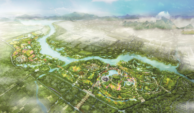 The Masterplan of Expo 2019 Beijing