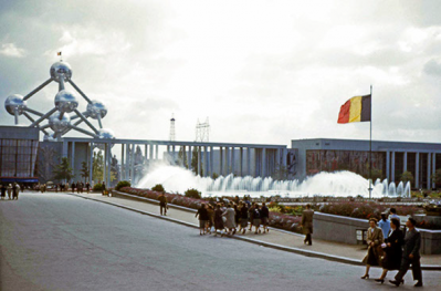 The Atomium at Expo 1958 Brussels