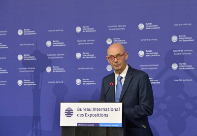 Pascal Lamy, the Interministerial delegate in charge of France's bid for Expo 2025