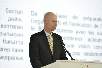 Steen Christensen, President of the General Assembly of the BIE