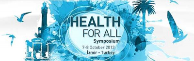 Symposium on Health for all logo