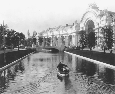 Canal at Expo 1904 St. Louis. Image credit: Library of Congress