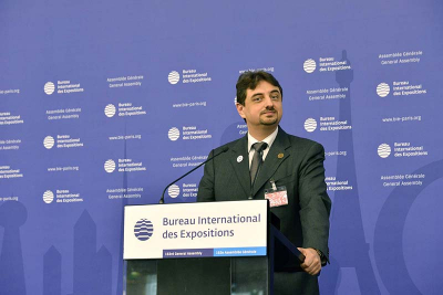 Executive Director of the Expo 2020 Dubai Bureau, Najeeb Mohammed Al-Ali