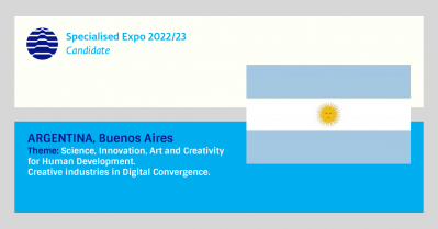 Argentina, candidate for Specialised Expo 2022/23
