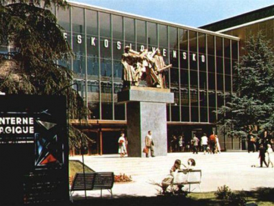 Czechoslovakia's Pavilion at Expo 1958 Brussels