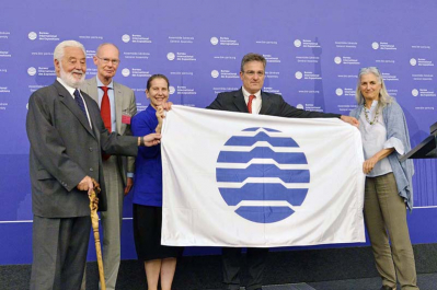 BIE flag handed to Triennale di Milano