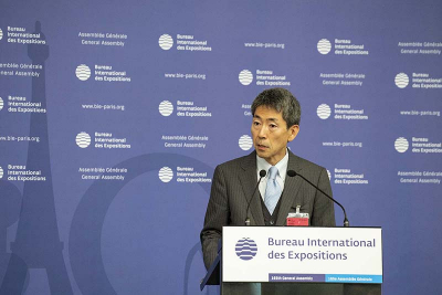 Junichiro Kuroda, Deputy Director General for World Expo 2025 at Japan's Ministry of Economy, Trade and Industry (METI)