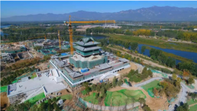 Yongning Tower, site of Expo 2019 Beijing