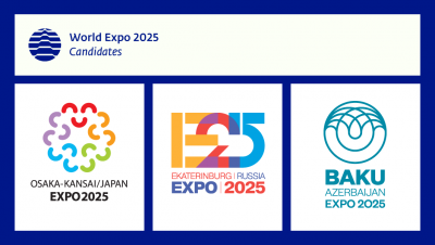 World Expo 2025 candidates