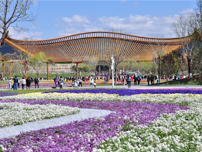 A flourishing debut for Expo 2019 Beijing