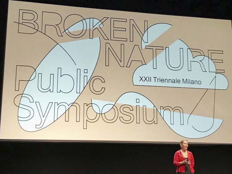 'Broken Nature' symposium prepares ground for XXII Triennale di Milano