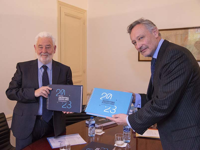 Argentina submits Expo 2023 Recognition Dossier to BIE