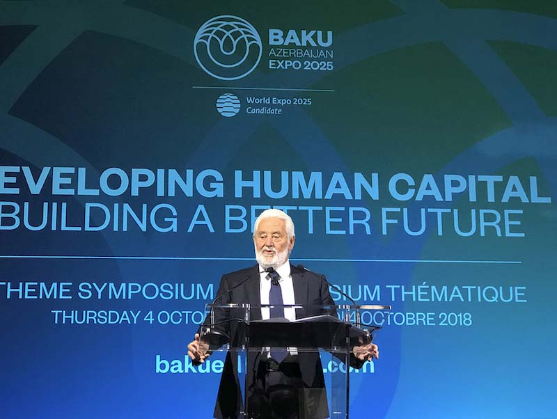 Human capital at the centre of Azerbaijan's bid symposium