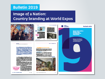 BIE Bulletin 2019 looks at country branding through the lens of Expos