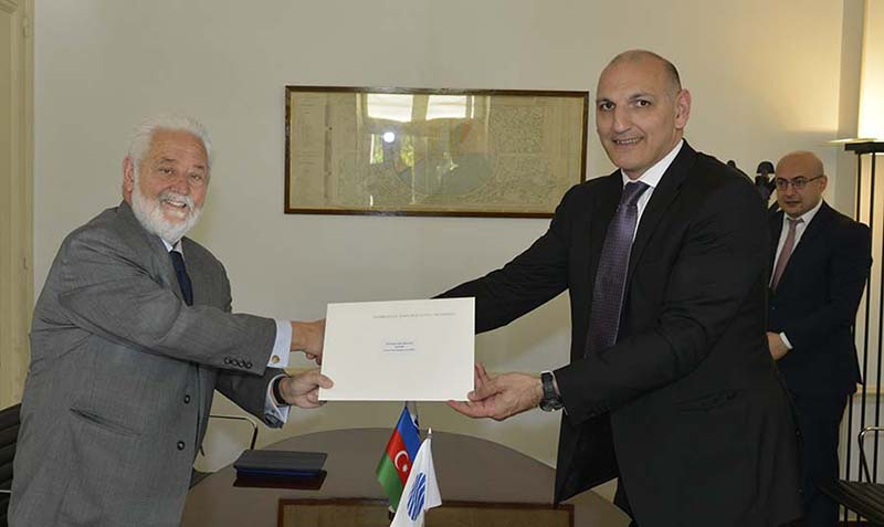 Azerbaijan submits bid for World Expo 2025