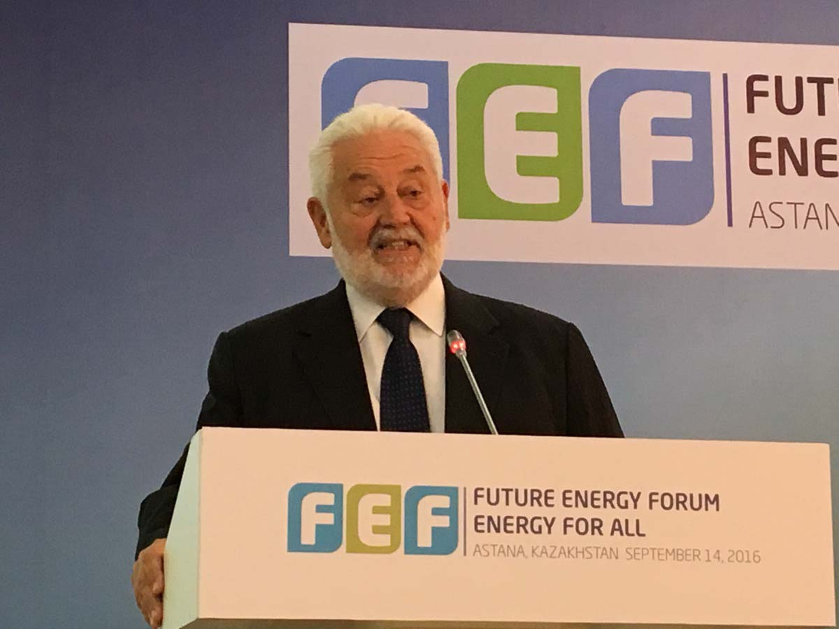 Astana hosts Future Energy Forum nine months ahead of Expo opening