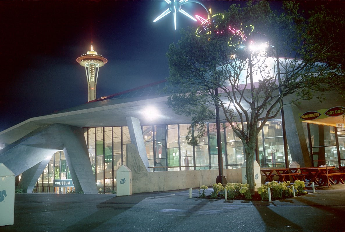 Coliseum - Washington State pavilion at Expo 1962
