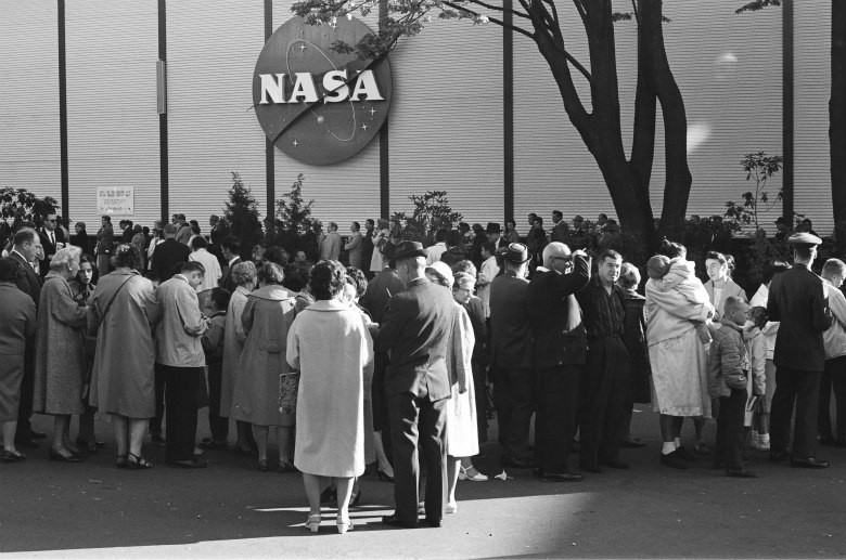 NASA Pavilion at Expo 1962 Seattle. Credit: Seattle Public Library
