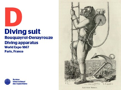 A to Z of Innovations at Expos: Diving Suit
