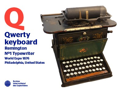 A to Z of Innovations at Expos: Qwerty keyboard