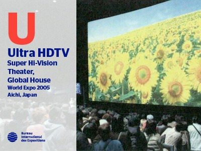 A to Z of Innovations at Expos: Ultra HDTV