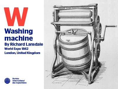 A to Z of Innovations at Expos: Washing machine