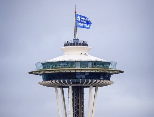 Covid-19 has closed the Space Needle, but it's still a beacon for Seattle