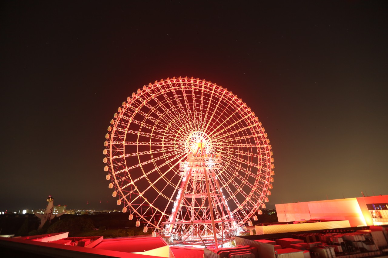 Japan's largest Ferris Wheel opens in Osaka's Expocity