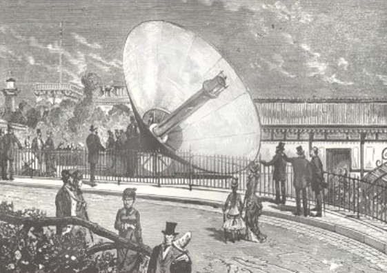 Expo 1878 Paris: The revelation of Sun Power