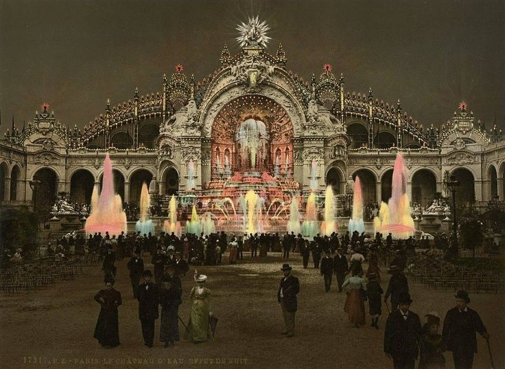 The Apotheosis of Electricity at Expo 1900 Paris