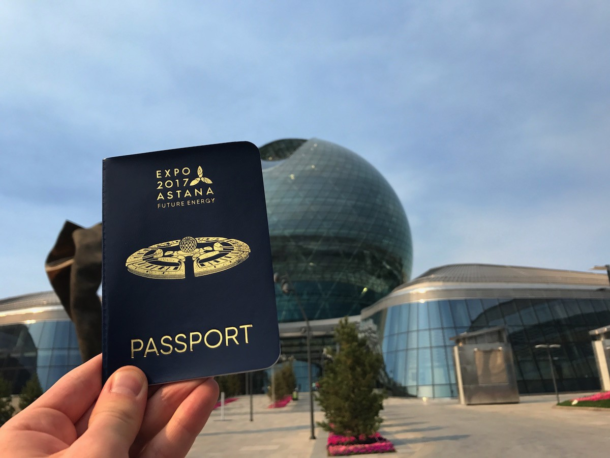 A Week at Expo 2017 #1: A Passport to the Expo