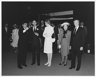 James Ogul with the British Royal Family at Expo 1986 Vancouver. Photo courtesy James Ogul.