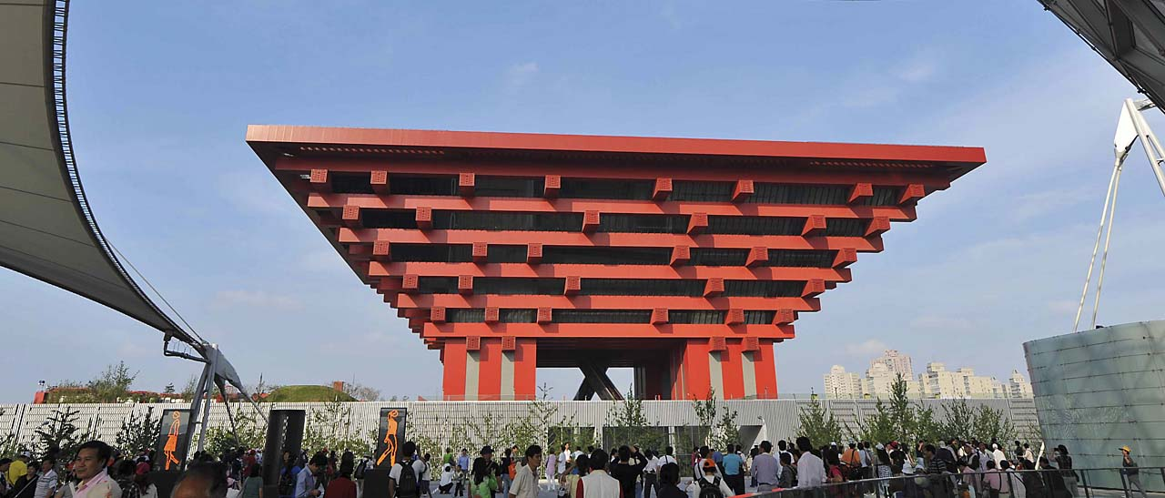 The crown of the East, Expo 2010
