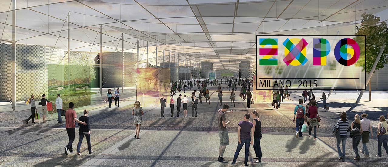 Expo Milano 2015 : Les Clusters