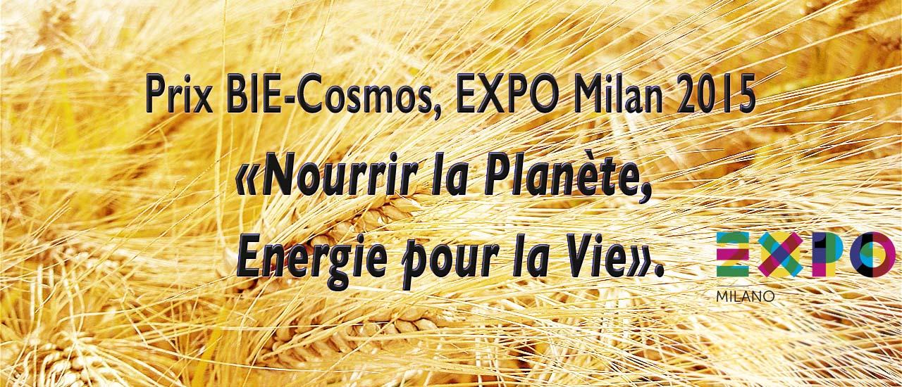 BIE - Cosmos Prize - Milan 2015