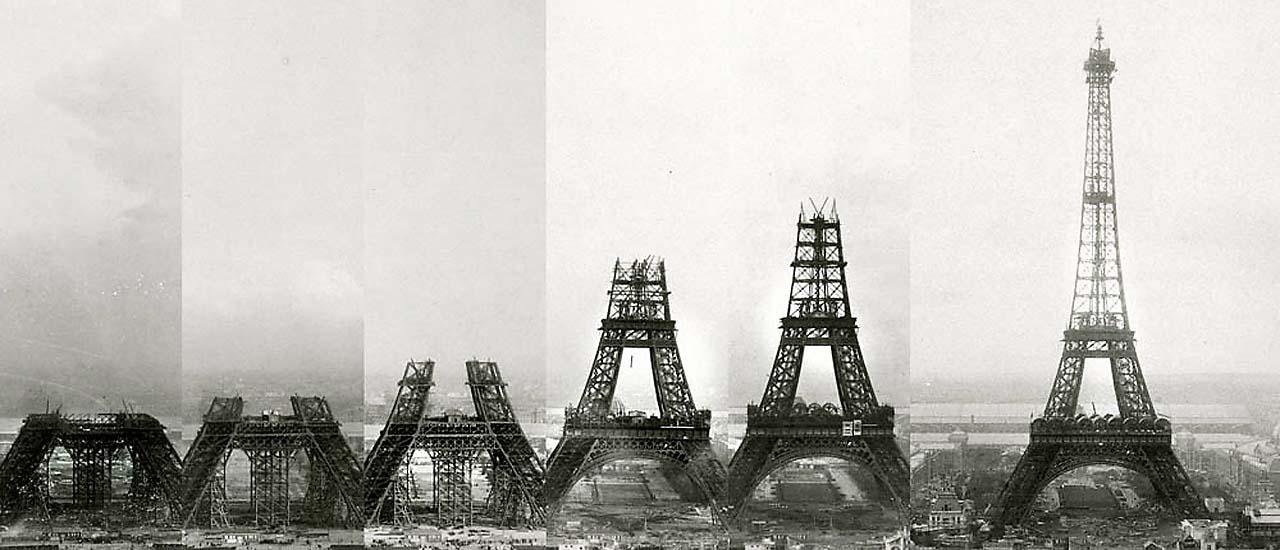 Expo Paris 1889 –La Tour Effeil