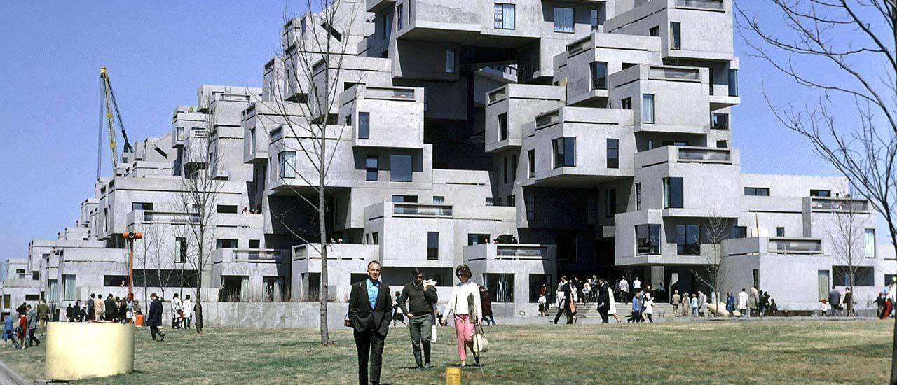 Expo Montréal 1967 – Le projet urbain Habitat 67