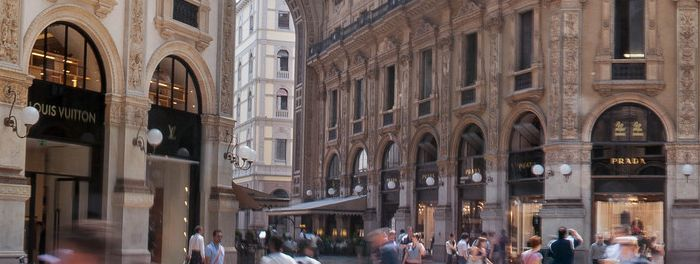Shopping in Milan - Galleria Vittorio Emanuele II